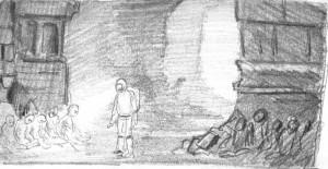 boceto momia6a