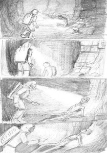 bocetos momias