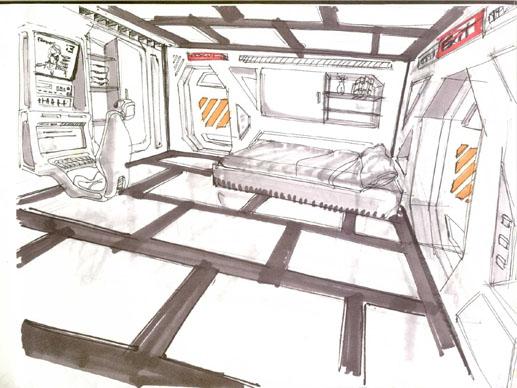 Interior De Ventana De Nave Espacial: Domingo Lizcano