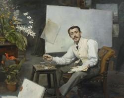 Henri-Ferdinand-Bellan_Autoportrait